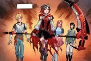 RWBY DC Comics 1 (Chapter 2) Team RNJR