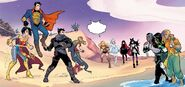 RWBY Justice League 7 (Chapter 13) Team RWBY and Justice League reunited
