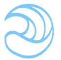 Wave-emblem