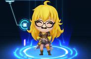 RWBY Crystal Match Yang Xiao Long's goofy glasses