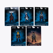 RWBY Limited Edition Action Figure Pin Set