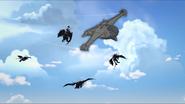 Ren masks airship