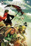 RWBY Justice League 5 cover
