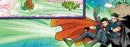 RWBY Justice League 6 (Chapter 12) Bruce catch Clark