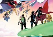RWBY Justice League 6 (Chapter 11) Team RWBY vs. Team JNPR