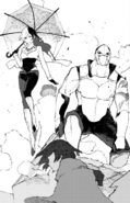 Chapter 18 (2018 manga) Neo and White Fang Lieutenant enters the battle
