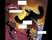 RWBY DC Comics 1 (Chapter 1) Team RWBY fights 01