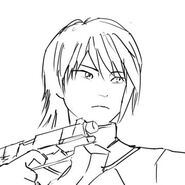 Rough sketch of Lie Ren for Vol. 5 Shine