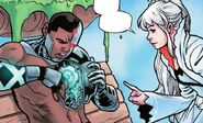 RWBY Justice League 3 (Chapter 6) Victor shows Weiss his core