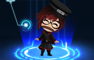 RWBY Crystal Match Ruby Rose's disguise outfit