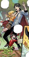 RWBY DC Comics 1 (Chapter 2) Qrow comforts Ruby and Yang