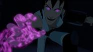 Tyrian's purple eyes