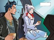 RWBY Justice League 2 (Chapter 3) Weiss and Bruce leave Atlas