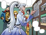 RWBY Justice League 2 (Chapter 4) Weiss informs everyone about unstable Dust battery