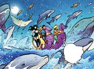 RWBY Justice League 4 (Chapter 7) Arthur's Semblance