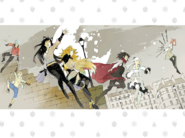 RWBY The Official Manga Vol. 2 illustration opening cover