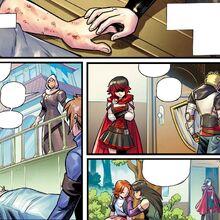 RWBY DC Comics 5 (Chapter 10) Team RNJR and Qrow at Mistral.jpg