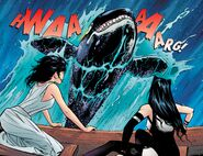 RWBY Justice League 1 (Chapter 2) Blake and Diana encounter a Sea Monster