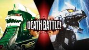 Dragonzord VS Mechagodzilla (Power Rangers VS Godzilla) DEATH BATTLE!