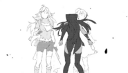 Chapter 6 (2018 manga), Blake accidently reveal her secret to Weiss and Yang