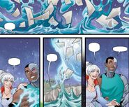 RWBY Justice League 7 (Chapter 13) Weiss and Victor create a prison dome together