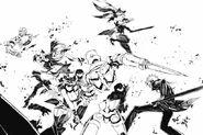 Manga 5, Blake and Adam defeats the Altesian Knight 130