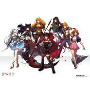 RWBY Vol 4 Team Up Poster