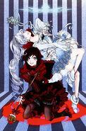 Ruby, Weiss (RWBY Official Japanese Fanbook, Illustration,Shimazaki Maki)