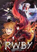 Rwby vol1 japan dvd blu-ray cover