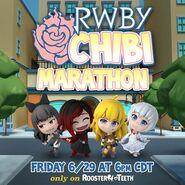 RWBY Chibi Marathon promotional material
