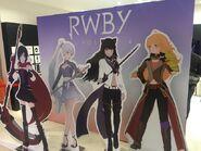 RWBY Japanese Volume 4 promotional material pop-up version of Team RWBY