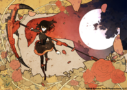 RWBY manga 2018 cover by Bunta Kinami