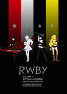 RWBY Volume 1 Official Japanese Fan Book Revised Edition