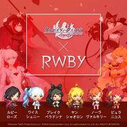 CQ x RWBY Promo material