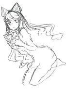 RWBY rough drawing works by Shirow Miwa 08