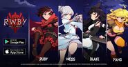 RWBY Amity Arena promotional material for E3 Playtest