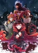 RWBY Volume 3 Japanese DVD Blu-ray cover limited edition