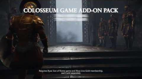 """Ryse Son of Rome """"Colosseum Pack"""" Game Add-On"""