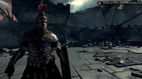 Ryse Son of Rome Official E3 Gameplay Demo