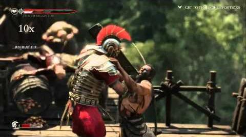 Ryse Son of Rome - Walkthrough With Commentary (3rd mission)