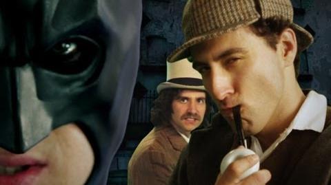 Batman vs Sherlock Holmes. Epic Rap Battles of History Season 2.