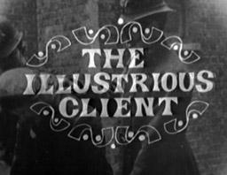 The Illustrious Client (Film, 1965)