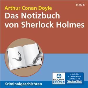 Das Notizbuch von Sherlock Holmes (Hörbuch, Radioropa)