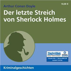 Der letzte Streich von Sherlock Holmes (Hörbuch, Radioropa)