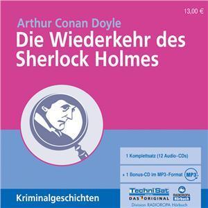 Die Wiederkehr des Sherlock Holmes (Hörbuch, Radioropa)