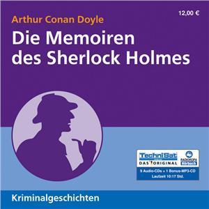 Die Memoiren des Sherlock Holmes (Hörbuch, Radioropa)