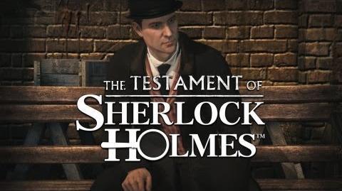 THE TESTAMENT OF SHERLOCK HOLMES TEASER 3
