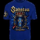 Livgardet-sabaton-tshirt-royal-blue-front-T21010