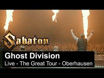 SABATON_-_Ghost_Division_(Live_-_The_Great_Tour_-_Oberhausen)