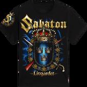 Livgardet-sabaton-tshirt-black-front-T21009